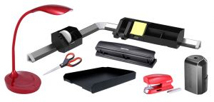 Work From Home Starter Kit in Black and Red