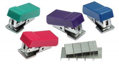 Standard Mini Stapler in Assorted Colors