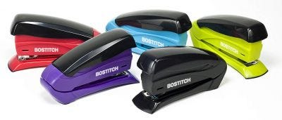 Inspire Compact Stapler Available in 5 Assorted Colors