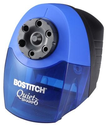 QuietSharp™ 6 Classroom Electric Pencil Sharpener