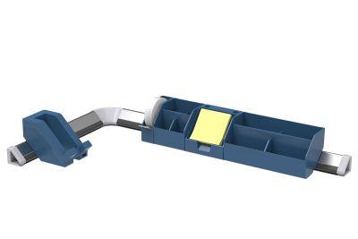Blue 9-Piece Konnect™ Desktop Organizer + Cable Management Kit