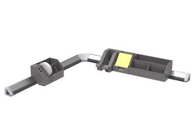 Gray 12-Piece Konnect™ Desktop Organizer + Cable Management Kit