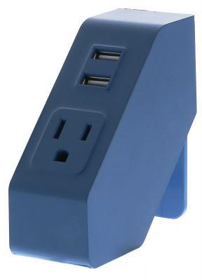 Blue Desktop Power Hub
