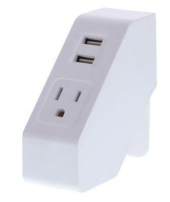 White Desktop Power Hub