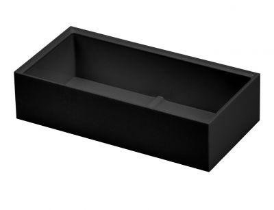 Black Accessory Tray for Desk