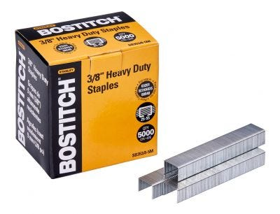 """Bostitch 3/8"""" Heavy-Duty Staples for 03201, B310HDS, and 00540"""