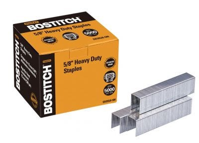 "Bostitch 5/8"" Heavy-Duty Staples"