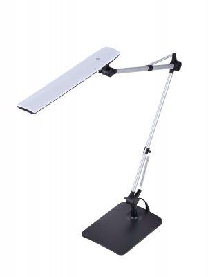 Black Dual Swing Arm Desk Lamp