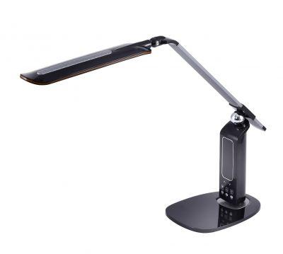 Black Adjustable LED Desk Lamp