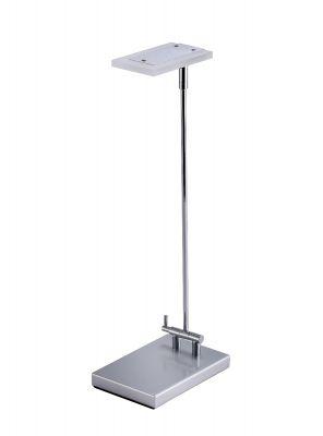 Silver Folding Desk Light