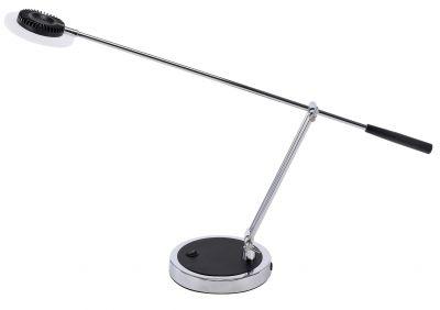 Chrome Boom Arm Desk Lamp