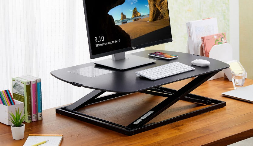 Konnect Monitor Risers and Workstations