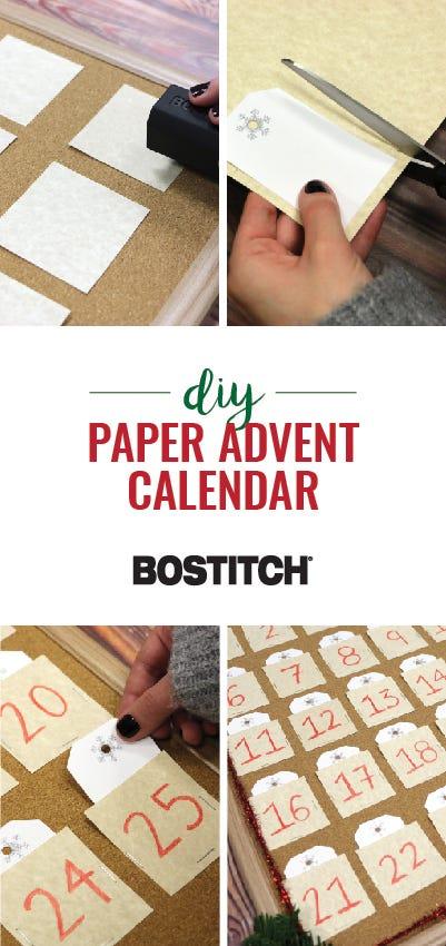 Pinterest Image for DIY Advent Calendar