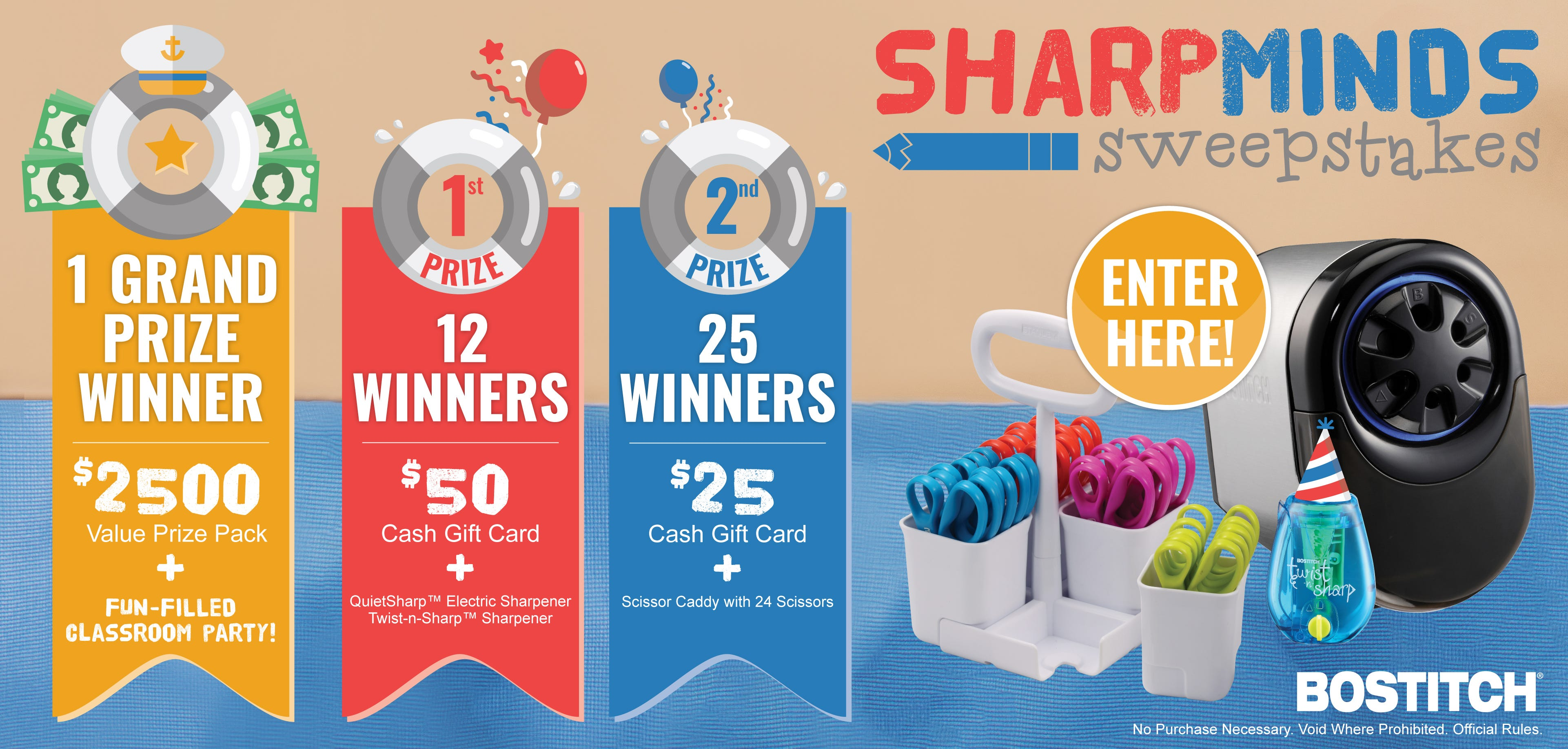 2017-2018 Sharp Minds Sweepstakes