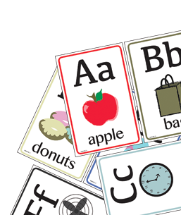 Printable Letter Flashcards