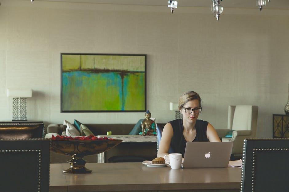 Adjust desk to greet others