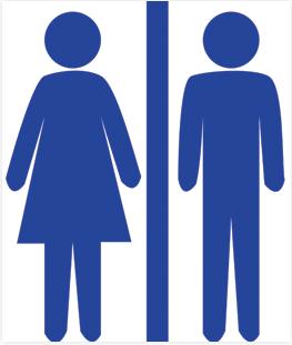 Printable Restroom Sign