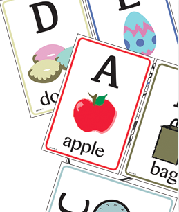 Printable Uppercase Letter Flashcards
