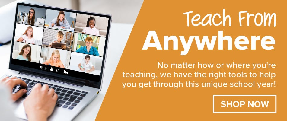 Teach From Anywhere with Bostitch Office