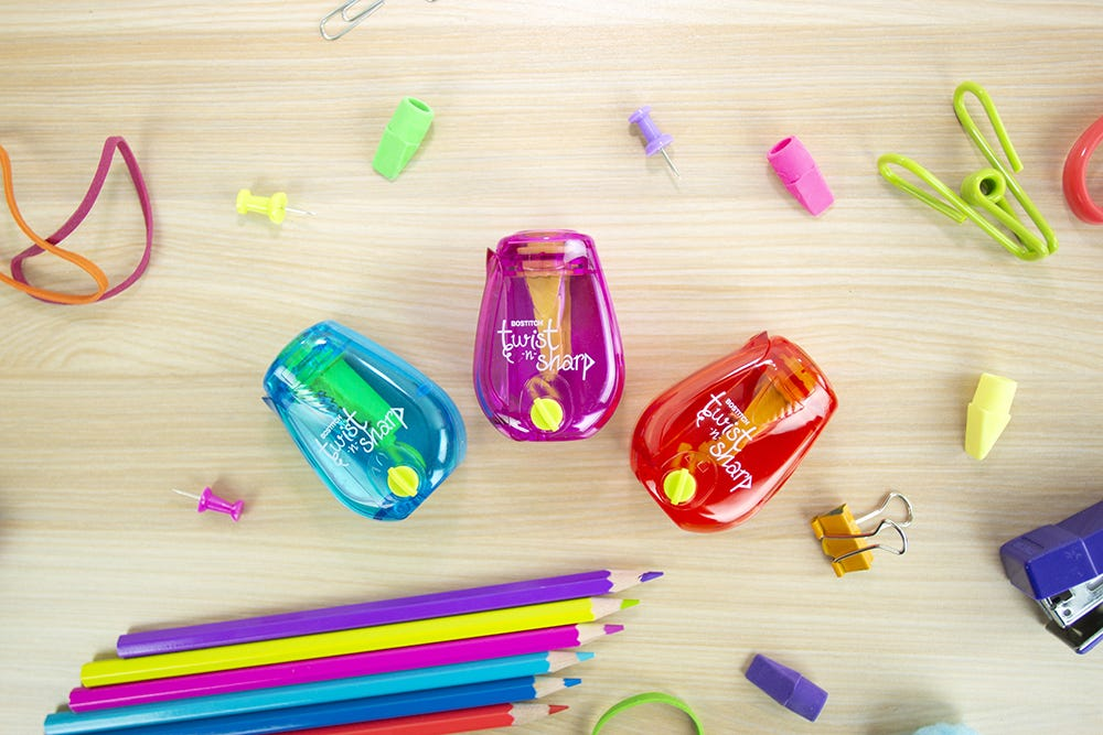 Twist-n-Sharp™ Kids Pencil Sharpener for Moderate Use