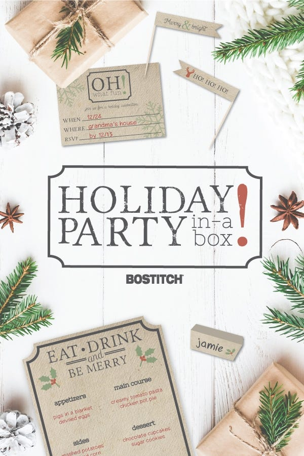 Holiday Party-In-A-Box