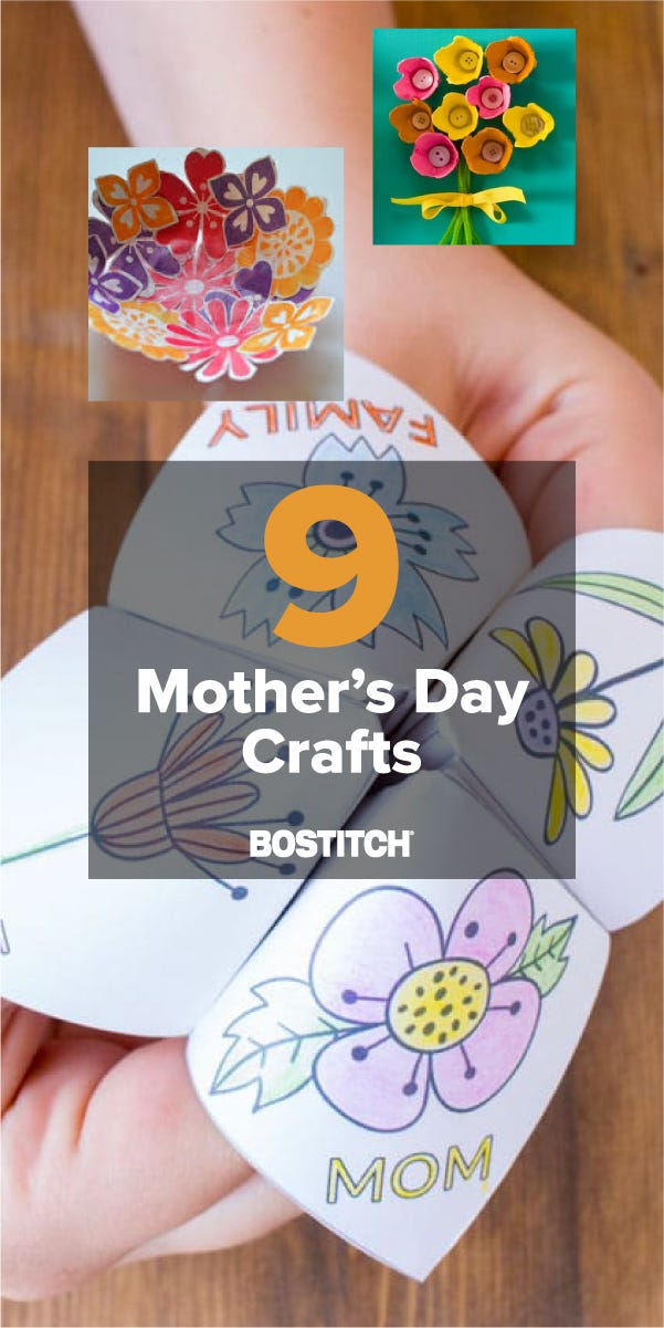 9 Mother's Day Crafts We Love