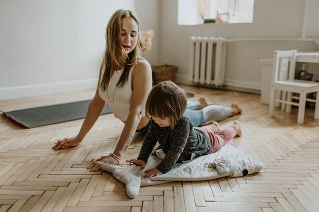 At-Home Yoga Retreat